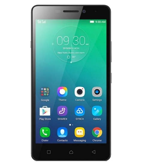 Lenovo Vibe Zoom Lenovo Vibe P1m 16gb Black Mobile Phones At Low