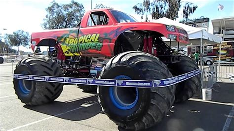 san diego monster truck tropical thunder mike pappas party in the pits monster jam