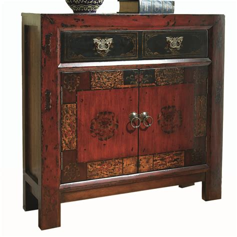 hall chests and cabinets hamilton home chests and consoles asian two door one