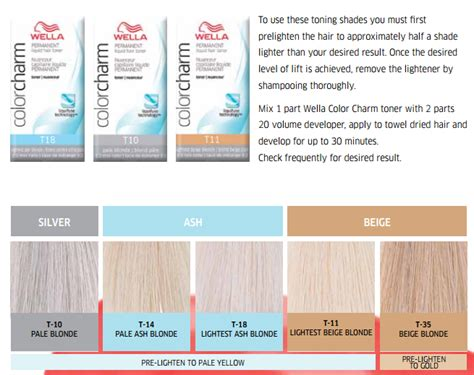 1000 ideas about wella hair color chart on hair color charts haircuts and the 25 best wella t18 ideas on wella color charm toner hair colours and