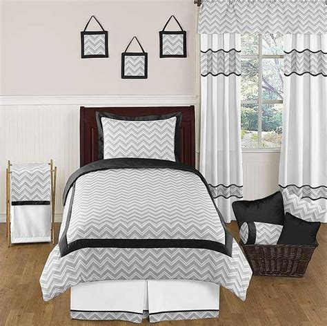 chevron print bedding zig zag black gray chevron print comforter set twin