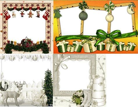 merry christmas frames png new year christmas frames