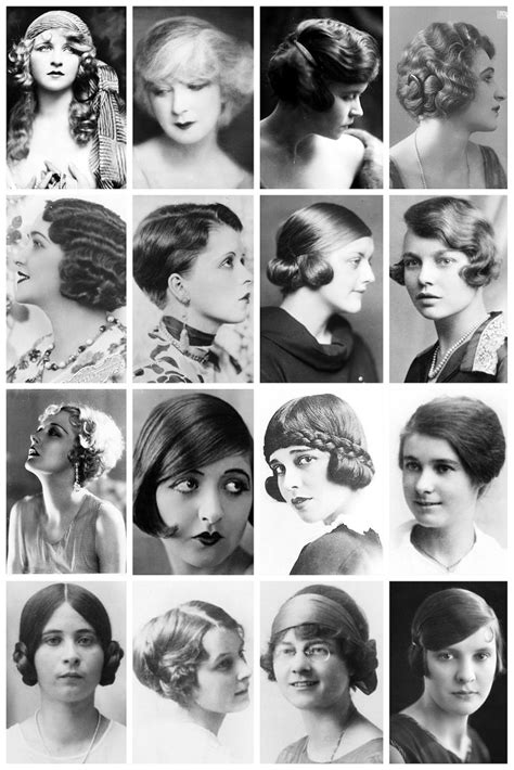 names of 1920s hairstyle 417 best 1920 s hair styles images on pinterest