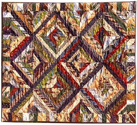 Tie Quilt Patterns For Beginners by Necktie Quilt Upcycled Ties