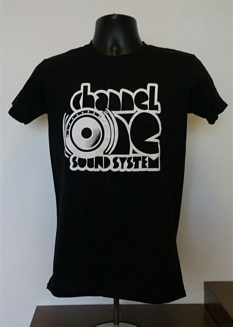 Channel Cocaine Big Size White Tshirt channel one sound system t shirt gildan cotton black