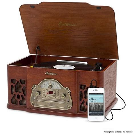 cabinet stereo cd player vintage record player cabinet shop collectibles daily