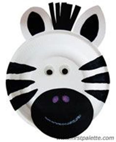 Zebra Paper Plate Craft - 25 best ideas about paper plate animals on