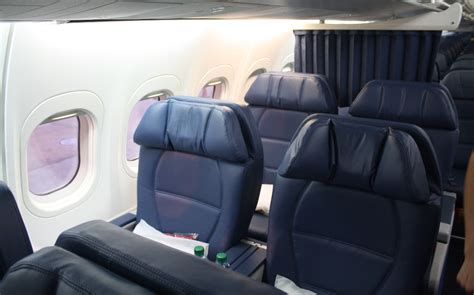 delta 717 cabin review of delta air lines flight from atlanta to montreal