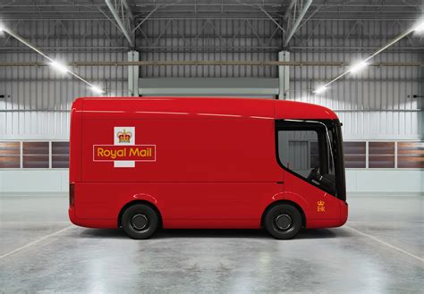 vehicles mail royal mail is testing these futuristic looking electric vans the irish news