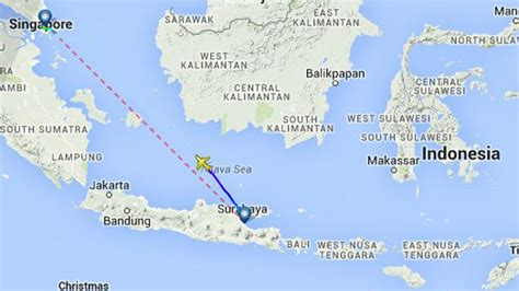 breaking airasia plane with 162 aboard missing in airasia flight reported missing with 162 on board