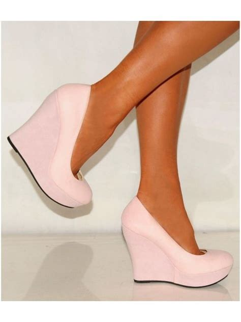 baby pink high heel shoes 17 best ideas about pink wedges on coral
