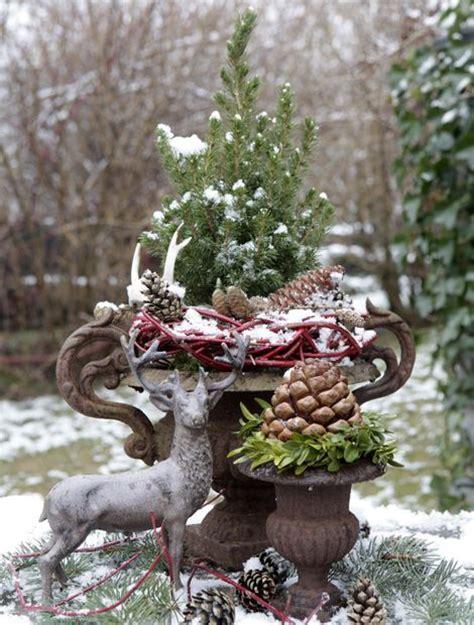 Weihnachtsdeko Im Garten by 25 Einzigartige Weihnachtsdekoration F 252 R Drau 223 En Ideen