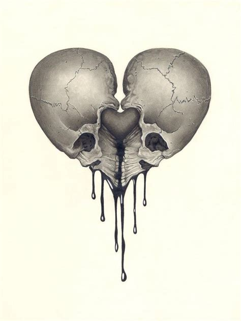skull heart tattoo 401 best images about skulls and things on