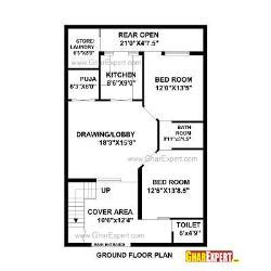 Home Maps Design 100 Square Yard India | architectural plans naksha commercial and residential