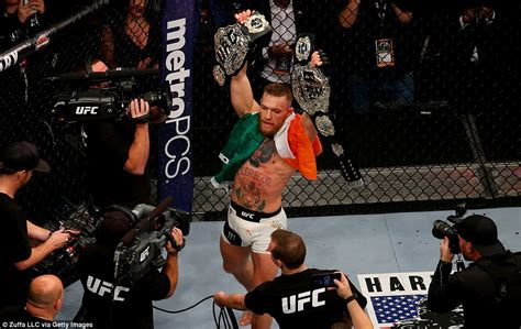 10 years 13 seconds the conor mcgregor story books conor mcgregor makes history in ufc 205 fight against