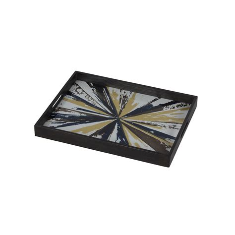 Rectangular Tray buy notre monde kaleidoscope rectangular glass tray amara