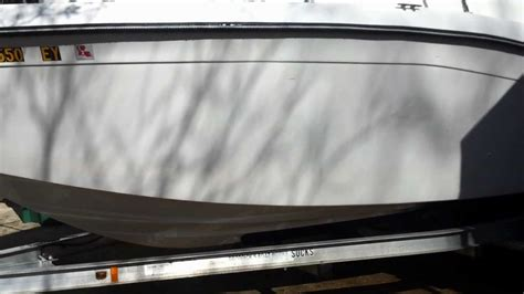 boat rust cleaner how to clean your fiberglass boat hull and remove water
