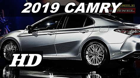 2019 All Toyota Camry by All New 2019 Toyota Camry Xse Amazing Premium Sedan