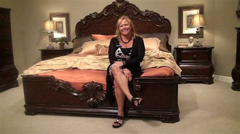 wellington bedroom furniture wellington manor bedroom collection by pulaski furniture home gallery stores youtube