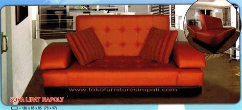 Sofa Santai Lipat sofa bed sofabed kursi tidur serba guna toko