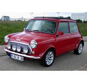 Red Austin Mini Cooper – Click To Enlarge