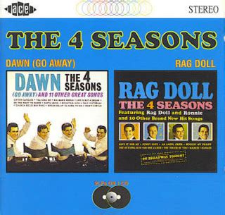 rag doll four seasons oldies but goodies four seasons rag doll