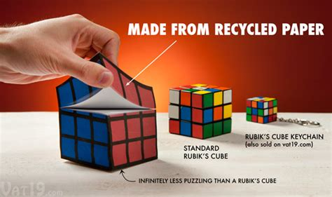How To Make A Paper Rubik S Cube - rubik s cube notepad officially licensed notepad includes