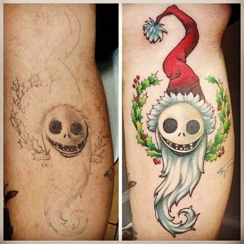 christmas tattoo 25 festive themed tattoos