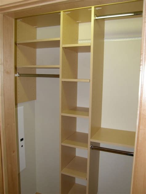 cupboard shelf ideas simple bedroom with gold closet storage shelving ideas