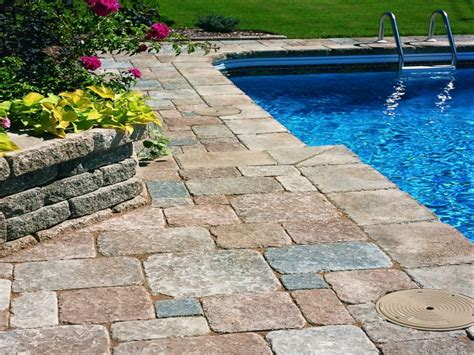 Pool Patio Pavers Deck Ideas Above Ground Pool Deck Ideas With Pavers Above Ground Pool Deck Gallery Pool