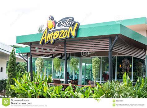 amazon thailand cafe amazon coffee shop editorial photo image 60518431