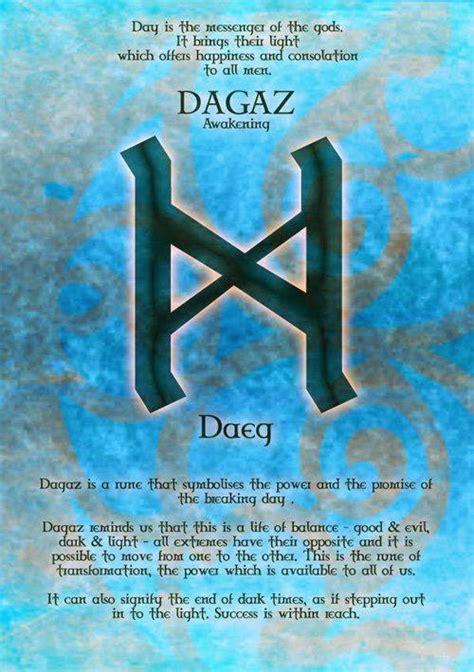 nordic wiccan daeg rune