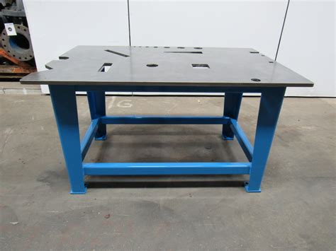 welding bench top steel welding work bench assembly layout table 39x60x33 quot 3
