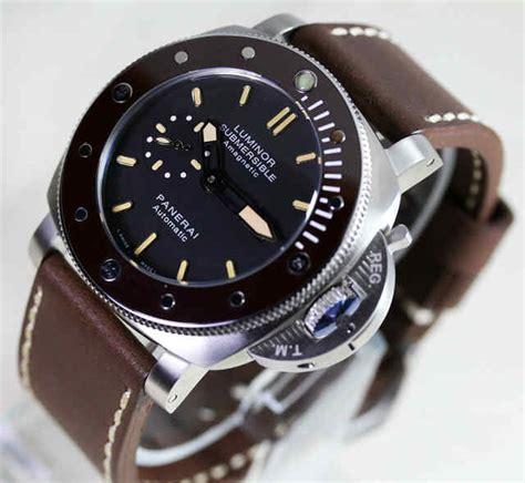 Jam Tangan Pria Mewah Panerai Gmt Automatic harga jam tangan panerai luminor marina original