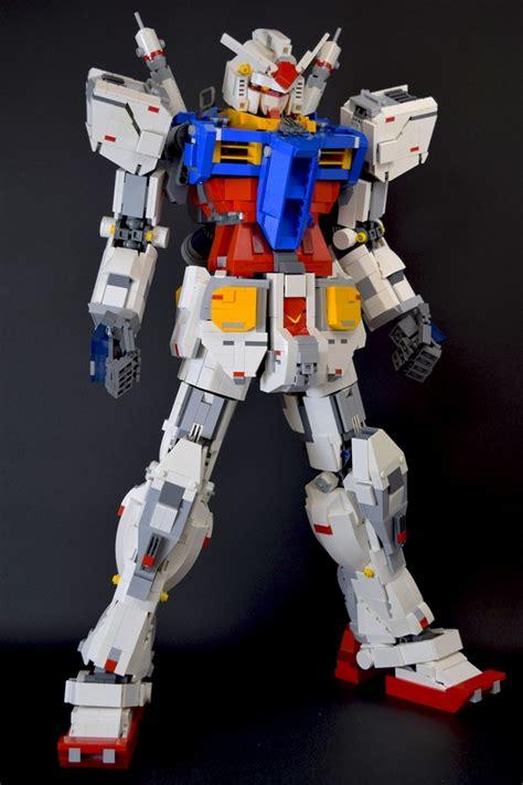 tutorial gundam lego lego build rx 78 2 gundam gundam kits collection news