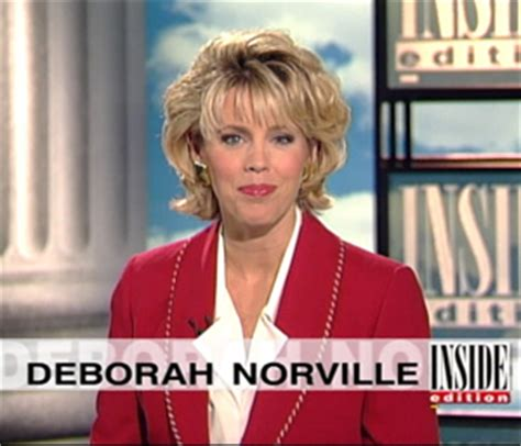 deborah norville turns 20 on inside edition new york post deborah norville makes history as longest female anchor