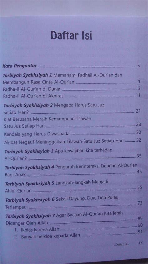 Buku Langkah Langkah Menjadi Pemimpin Disarikan Dari Al Quran buku tarbiyah syakhsiyah quraniyah 16 langkah membangun