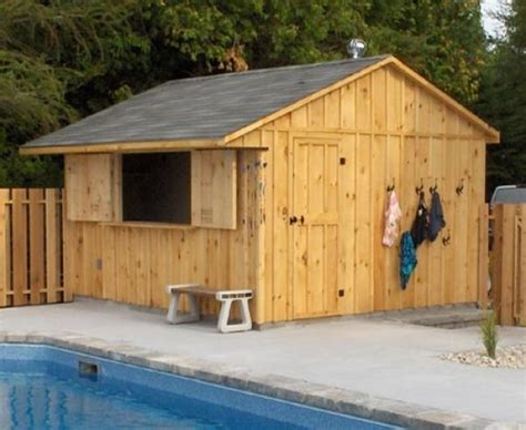 pool shed plans 169 best images about outside poolside ideas on