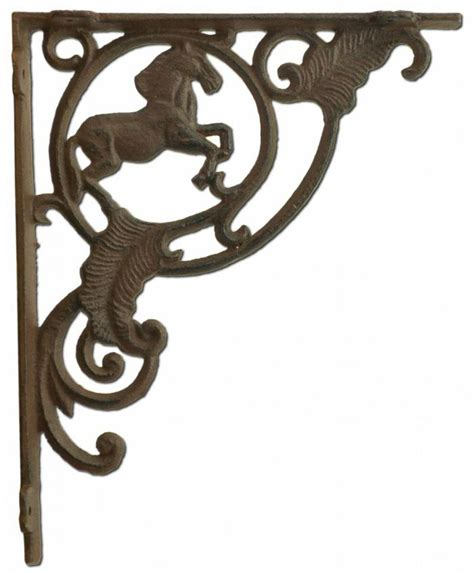 Rustic Wrought Iron Shelf Brackets by Shelf Bracket Rustic Cast Iron Crafting Custom Shelves