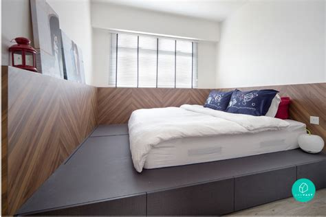 Platform Bed Singapore 10 Home Space Hack Small Spaces Look Bigger