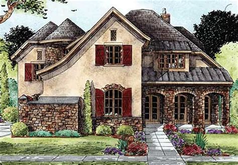 french tudor house plans architectural designs