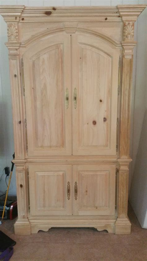 I A Link Rawhide Dresser Nightstand And Rolltop Desk And My Antique Link Armoire My Antique Furniture Collection