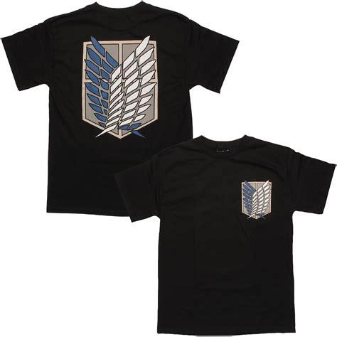T Shirt Animeshingeki No Kyojin Traning Corps anime shirts that can be kept on the downlow anime
