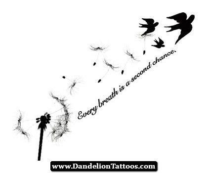 dandelion tattoo quotes tumblr paardenbloem tatoeages paardenbloemen and tatoeages on