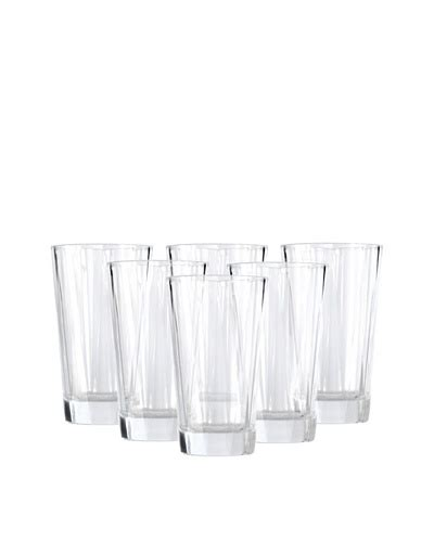 bicchieri club berghoff set di 6 bicchieri highball club moda europea