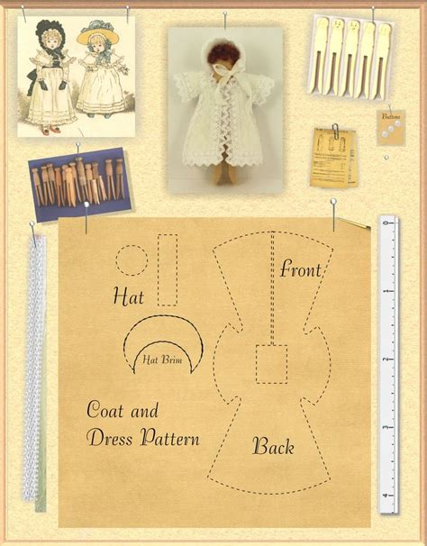 clothes pattern magazine how to child doll s coat with link to aim magazine