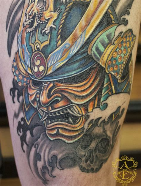 samurai mask tattoo the gallery for gt samurai designs