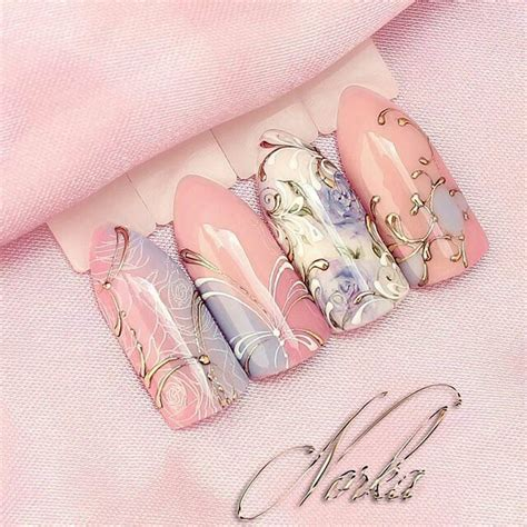 Wedding Bell Nail Design by Pin By Guisao On On My Nails