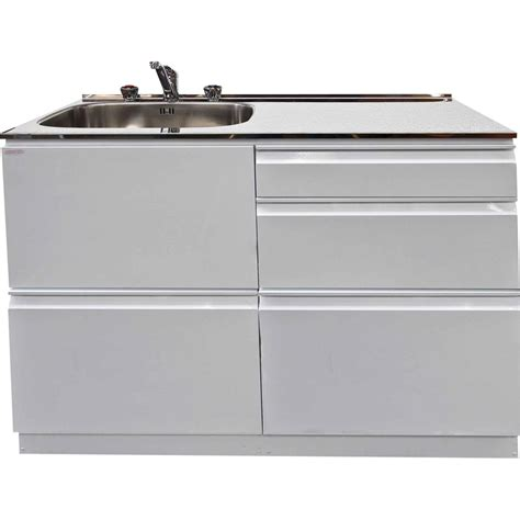 Laundry Sink And Cabinet Dissco Laundry Centre 1120x560mm Left Hand Tub White