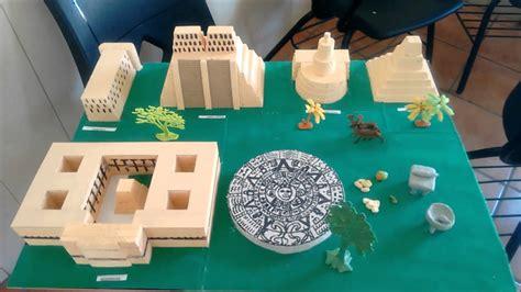 imagenes de maquetas mayas dise 241 o de maquetas culturas de m 233 xico eesj 10 05 2016